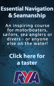 RYA Interactive Essential Navigation and Seamanship Web Based Online Navigation and Shorebased Theory and Safety Course Scotland