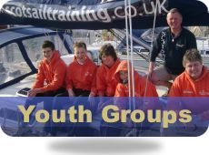 Youth Group Sailing and PowerBoating Courses Scotland